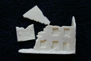 Wargames Tournaments 15mm 15/EB02 Northern European Ruined House